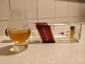 Johnnie Walker Red Label bottle kill