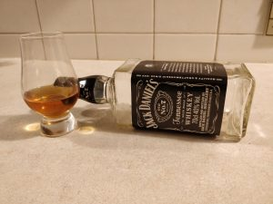 Jack Daniel's Old No. 7 bottle kill