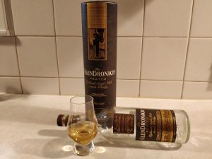 GlenDronach Peated bottle kill