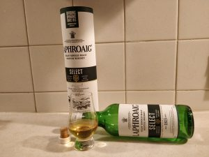 Laphroaig Select bottle kill