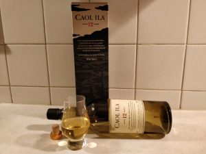 Caol Ila 12 Year Old bottle kill
