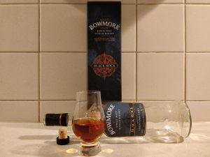 Bowmore Black Rock bottle kill