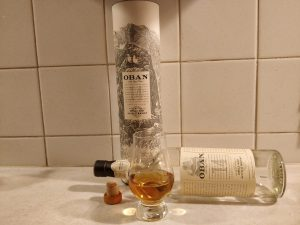 Oban 14 Year Old bottle kill