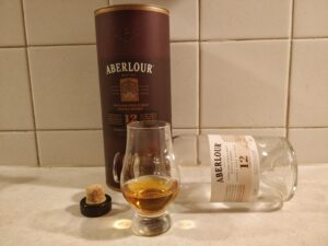 Aberlour 12 Year Old bottle kill
