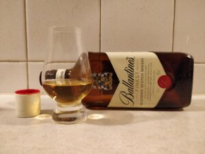 Ballantine's Finest bottle kill