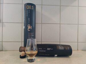 Bruichladdich Octomore 08.1 bottle kill