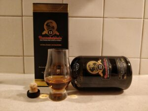 Bunnahabhain 12 Year Old bottle kill