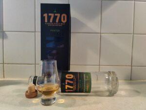 Glasgow 1770 Peated Single Malt bottle kill