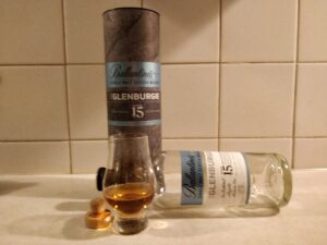 Glenburgie 15 Year Old bottle kill