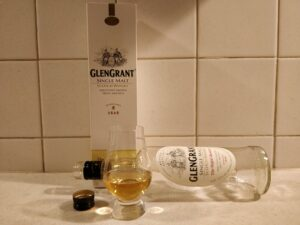 Glen Grant The Major's Reserve bottle kill