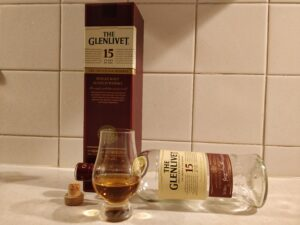 Glenlivet 15 Year Old bottle kill