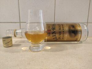 Glen Rosa 8 Year Old bottle kill