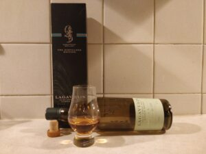 Lagavulin Distillers Edition bottle kill