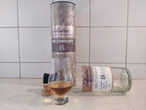 Miltonduff 15 Year Old bottle kill