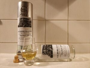 Mortlach 2008 Aalborgmalten 2018 bottle kill