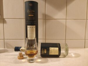 Oban Distillers Edition bottle kill