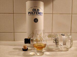 Old Pulteney 12 Year Old bottle kill