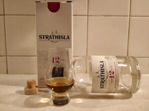 Strathisla 12 Year Old bottle kill