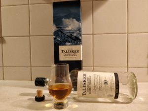 Talisker 10 Year Old bottle kill