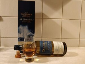 Talisker Distillers Edition bottle kill