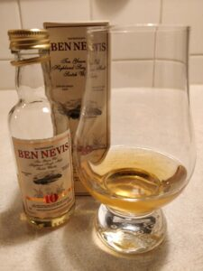 Ben Nevis 10 Year Old - Miniature