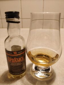BenRiach 10 Year Old - Miniature