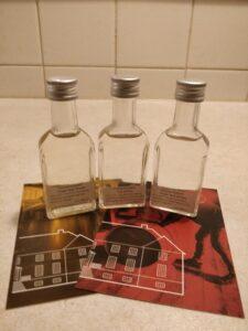 Oremandsgaard Whisky fadprøver