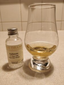 Aultmore 12 Year Old - Sample