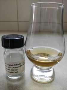 The English Whisky Co. 8 Year Old - Sample